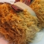 เซตผ้าขนยุ่งสำหรับเย็บตุ๊กตาหมี - โทนสีน้ำตาลทอง thumbnail 1