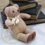 ตุ๊กตาหมีผ้าขูดขนสีโอวันตินขนาด 9.5 cm. - Niza thumbnail 2