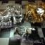 หมากรุกสากลแม่เหล็กตัวหมากสีทองเงินขนาดเล็ก(25x25cm.) thumbnail 6
