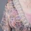 เดรสพรีเมี่ยมชีฟองลายดอกไม้ประดับเลื่อม thumbnail 6