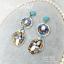 ต่างหูระย้า summer collection แต่งหินและเทอร์ควอยซ์ thumbnail 3