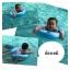 Size M สุดฮิต สีฟ้า- ห่วงยางพยุงหลัง Safty Baby Swim Trainer Float ล็อค 2 ชั้นโอบรอบตัว ปลอดภัย (6 เดือน -2 ขวบ ( -วิธีใช้ดูในคลิปวีดีโอค่ะ) (สายพาดบ่าไม่จำเป็นต้องเป่านะคะ ตัวปีกสีขาวโตแล้วไม่ต้องเป่า) thumbnail 8