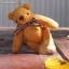 ตุ๊กตาหมีผ้าขนสีน้ำตาลทองขนาด 10 cm. - Muffin thumbnail 5