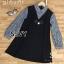 Mini dress ลุคคุณหนูน่ารักๆ มาในโทนสีดำ thumbnail 3