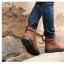 รองเท้าบูทหนังแฟชั่นเท่ห์ๆ พร้อมส่งสีกากี ไซส์39 thumbnail 12