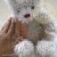 หมีสีครีมขนวิ้งๆ สูง 32 ซม. thumbnail 3