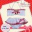 เชอรี่ขาวจุดแดง ชุดว่ายน้ำเด็กเล็ก size 4 - 12 เดือน น้ำหนัก 9-12 กก. ชุดว่ายน้ำเด็ก thumbnail 3