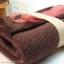 เซตผ้าขนขอดสำหรับเย็บตุ๊กตาหมี - โทนสีน้ำตาลเข้ม thumbnail 2