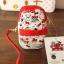 พร้อมส่งค่ะ Sanrio Hello Kitty double zipper pouch thumbnail 4