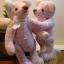 ตุ๊กตาหมีผ้าฝ้ายสีชมพู ขนาด 14 cm. - Herbie thumbnail 3