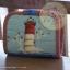 กระเป๋าสตางค์พับงานควิลท์+กระเป๋าปิ๊กแป๊ก seascape thumbnail 6