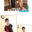 ชุดคู่รัก สีดำแดง เสื้อคอกลม thumbnail 3