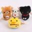 (สินค้าแลกซื้อในราคา 60 บาท) San-X ที่ห้อยมือถือแบบเช็ดหน้าจอได้ มี Rilakkuma/ Korilakkuma/ Chicken/ Kutsushita Nyanko thumbnail 1
