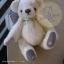ตุ๊กตาหมีผ้าขนยุ่งสีครีมขนาด 17 cm. - Bobble thumbnail 1