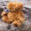 ตุ๊กตาหมีผ้าขนหยิกขนาด 25 cm. - Bagel thumbnail 6