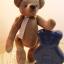 ตุ๊กตาหมีผ้าฝ้ายสีน้ำตาลขนาด 20 cm. - Poppy thumbnail 3