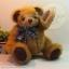 ตุ๊กตาหมีผ้าขนฟูขนาด 22 cm. - Durum thumbnail 1