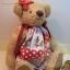 ตุ๊กตาหมีผ้าขนแกะสีน้ำตาลทองขนาด 23 cm. - Sue thumbnail 1