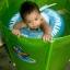 Size M สุดฮิต สีฟ้า- ห่วงยางพยุงหลัง Safty Baby Swim Trainer Float ล็อค 2 ชั้นโอบรอบตัว ปลอดภัย (6 เดือน -2 ขวบ ( -วิธีใช้ดูในคลิปวีดีโอค่ะ) (สายพาดบ่าไม่จำเป็นต้องเป่านะคะ ตัวปีกสีขาวโตแล้วไม่ต้องเป่า) thumbnail 11
