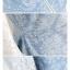 เสื้อยีนส์สีฟ้าเข้มแต่งแขนลูกไม้สีขาวปล่อยชายเสื้อแบบหางปลา thumbnail 8