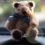 ตุ๊กตาหมีผ้าขนสีน้ำตาลขนาด 6.5 cm. - BeanBear thumbnail 4