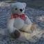 ตุ๊กตาหมีผ้าขนหนูสีครีมขนาด 10 cm. - Muffin thumbnail 1