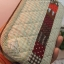 กระเป๋าสตางค์ใบยาวงานควิลท์-ผ้าทอโทนน้ำตาลอ่อน thumbnail 3