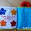 Pockets of Learning : My Quiet Book รุ่นใหม่ล่าสุด สินค้าขายดีใน Ebay เลยค่ะ (ตัดเย็บเองแพงกว่านี้แน่นอนค่ะ งาน BBB ขาย 600 กว่านะคะ มือสองยัง 350 แล้วเลย) thumbnail 8