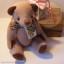 ตุ๊กตาหมีผ้าขูดขนสีน้ำตาลขนาด 19 cm. - Lilac thumbnail 4
