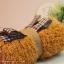 เซตผ้าขนปุยสำหรับเย็บตุ๊กตาหมี - โทนสีน้ำตาล Terra Cotta thumbnail 2
