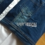 เชิ้ตยาวผ้าป็อบลินคอตตอนสีขาวตกแต่งผ้าเดนิม thumbnail 7