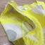 mini dress สีเหลืองแขนกุด ปักลายดอกไม้สีเหลือง thumbnail 7