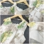 ชุด Maxi dress แขนกุด เนื้อผ้าพิมพ์ลายหอ eiffel และดอกไม้กับผีเสื้อ thumbnail 6