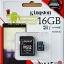 Kingston MicroSD 16GB (Class10) 80MB/10MB (Synnex/ABT) thumbnail 1