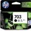 HP 703 INK BLACK (แท้) CD887AA thumbnail 1