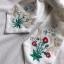 เสื้อผ้าเครปตอกแต่งลูกไม้ปักลายสไตล์วินเทจ thumbnail 6