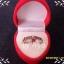 แหวนเงินแท้ชุบทองคำขาว ประดับพลอยสเปสซาไทท์ จากศรีลังกา thumbnail 2