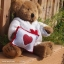 Teddy Bear (Be my Valentine.) ขนาด 21 ซม. thumbnail 3