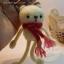 ตุ๊กตาหมีถักขนาด 12 cm. - Olive (white) thumbnail 3