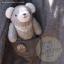 ตุ๊กตาหมีผ้านิ่มสีเทาขนาด 16.5 cm. - Winter thumbnail 1