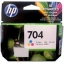 HP INK 704 TRICOLOR (แท้) CN693A thumbnail 1