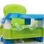 สีเขียว4เก้าอี้ทานข้าว วัสดุคุณภาพดี ใช้ได้ถึง 4 ปี ทำความสะอาดง่าย พกพาไปทานข้าวนอกบ้าน ไม่ต้องง้อเก้าอี้เด็กร้านอาหาร (ขนาดตามภาพสีชมพูนะคะ) thumbnail 1