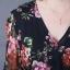 แม็กซี่เดรสพรีเมี่ยมชีฟอง พิมพ์ลายดอกไม้กุชชี่ thumbnail 3