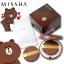 Missha Magic Cushion Special Kit [Line Friends Edition] Brown ตลับสีน้ำตาล เนื้อแป้งMatte #21 สีชาวอมชมพู (แถมฟรีรีฟิว 1 ชิ้น + พัฟ 1 ชิ้น ) thumbnail 3
