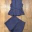 เซตเสื้อกั๊กกับกางเกงขาสั้นสีพื้น กรม-น้ำเงิน thumbnail 6