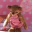 ตุ๊กตาหมีผ้าขนสั้นสีน้ำตาลขนาด 13 cm. - Cracker Boy thumbnail 2
