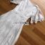 เดรสยาวผ้าลูกไม้สีขาวสไตล์วินเทจโบฮีเมียน thumbnail 6