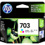 HP INK 703 TRICOLOR (แท้) CD888A thumbnail 1