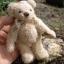 ตุ๊กตาหมีผ้าขนสีครีมขนาด 13 cm. - Cracker thumbnail 6
