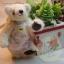 ตุ๊กตาหมีผ้าขนสีครีม ขนาด 7.5 cm. - Getty thumbnail 3